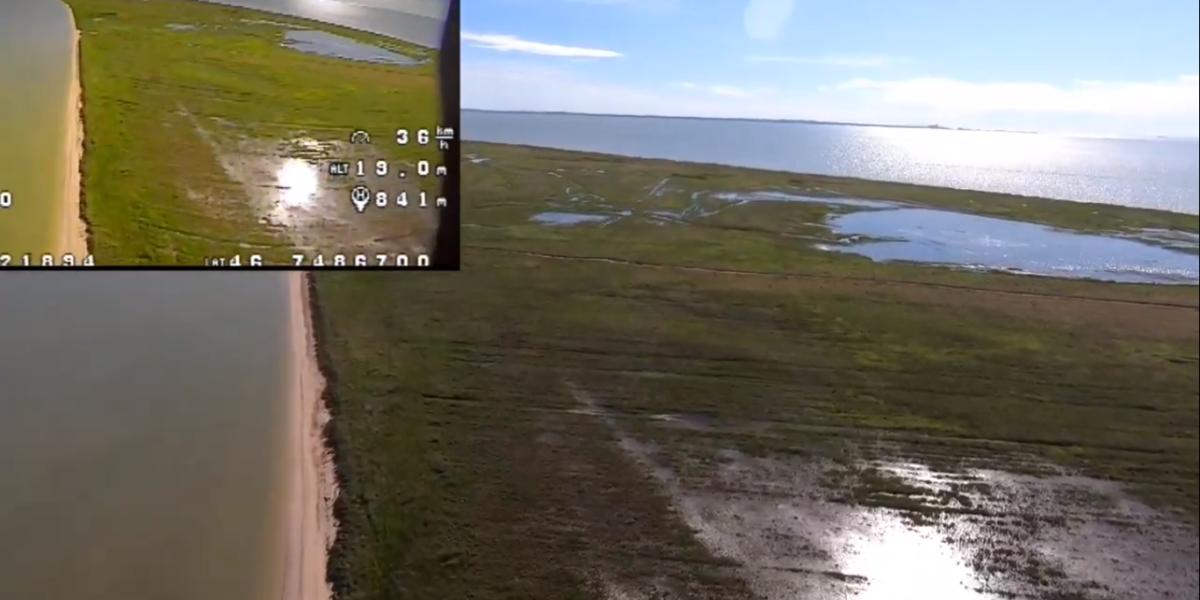 Типичный long range новичка на 1.3 км