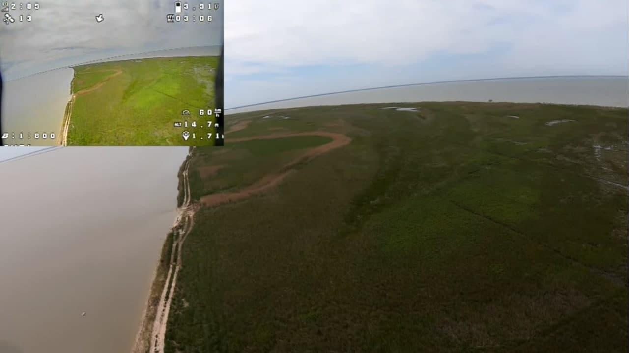 FPV полет на iFlight Chimera7 LR на 2.3 km